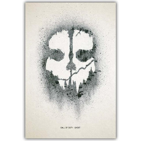 Call Of Duty Watercolor Canvas Print - Merch Vault