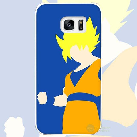 Dragonball Z Color Goku Ultra Instinct Samsung Galaxy Phone Case - Merch Vault