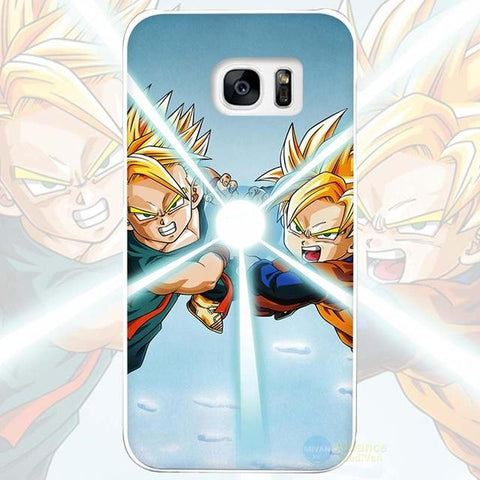 Dragonball Z Fusion Ultra Instinct Samsung Galaxy Phone Case - Merch Vault