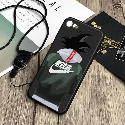 Dragonball Z Goku Jacket Ultra Instinct iPhone Phone Case - Merch Vault