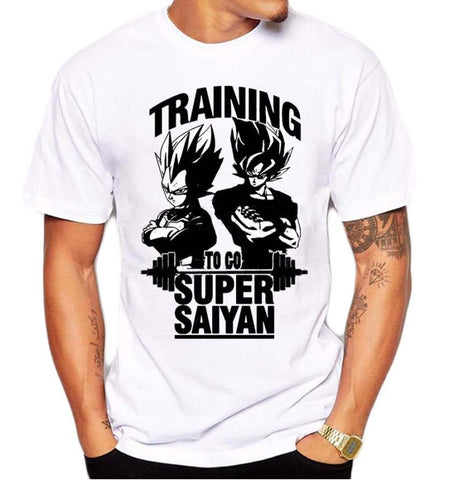 DragonBall Z Training to go Super Saiyan T-shirt - Merch Vault