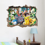 Exclusive Pokemon 'Break a Wall' Art Sticker - Merch Vault