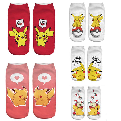 Exclusive Pokemon Full Design Socks - Merch Vault