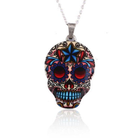 Gothic Skull Necklaces - Merch Vault