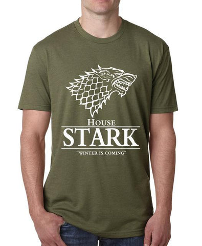 "House Stark ""Winter Is Coming"" T-Shirt - Merch Vault"