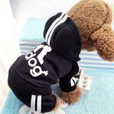 Luxury 'Adidog' Soft Cotton Pet Hoodie - Merch Vault