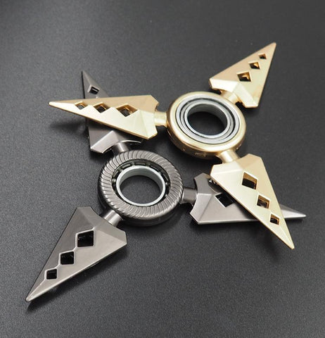 Naruto Metal Rotating Shuriken - Merch Vault