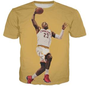 NBA Lebron James Dunk T-Shirt - Merch Vault