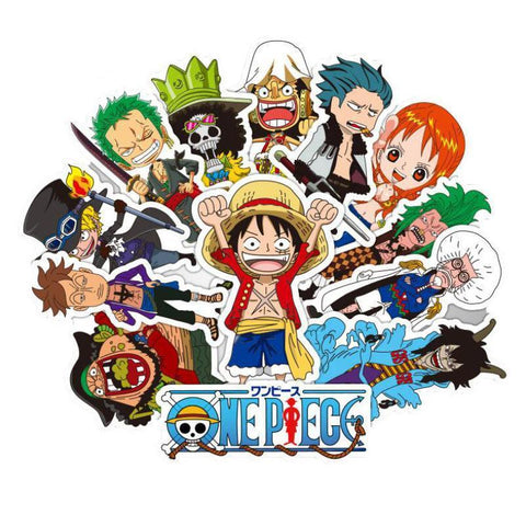 One Piece 42 Piece Sticker Set - Merch Vault