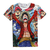 One Piece 'Celebration' 3D T-Shirt - Merch Vault