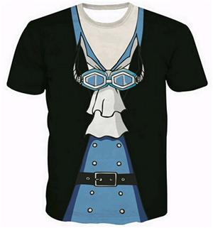 One Piece 'Formal Suit' 3D T-Shirt - Merch Vault