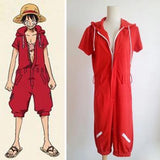One Piece Monkey D Luffy Jumpsuit - Merch Vault