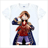 One Piece 'Monkey D. Luffy Salute' T-Shirts - Merch Vault