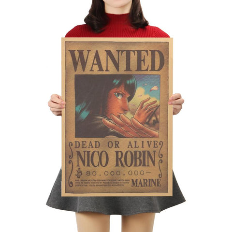 One Piece Nico Robin Wanted Poster - Merch Vault