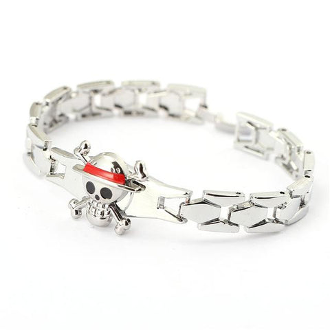 One Piece Silver Bracelets - Merch Vault