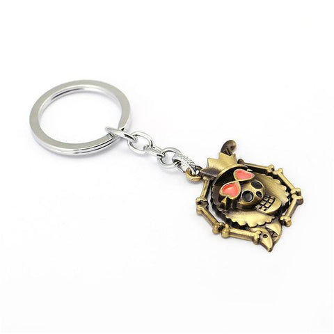 One Piece Skull Keychain - Merch Vault