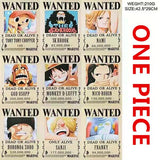 One Piece Wanted Posters - Merch Vault