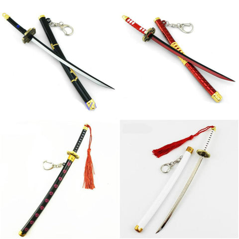 One Piece Zoro Katana Sword Keychains - Merch Vault