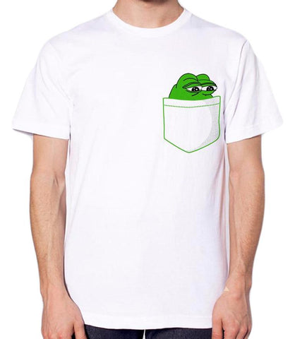 Pepe in the pocket T-shirt - Merch Vault