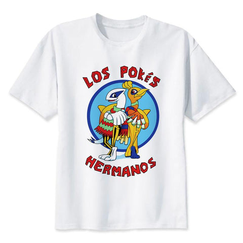 "Pokemon X Breaking Bad Legendary ""Los Pokés Hermanos"" T-Shirt - Merch Vault"