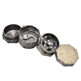 Premium Heavy Zinc Alloy 4 Tiered Herbal Grinder - Merch Vault