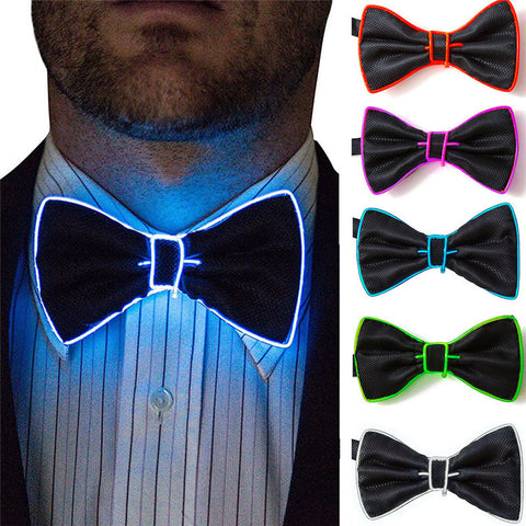 LED Flashing Bowtie - Merch Vault