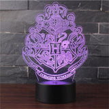 Harry Potter 3D LED Lamp - Merch Vault