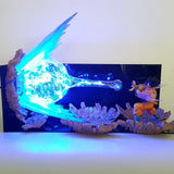 Goku Kamehameha LED Battle Lamp - Merch Vault