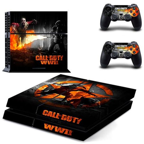 Sony Playstation 4 Call Of Duty 'Fiery' Decal Sticker,  - Merch-Vault.com