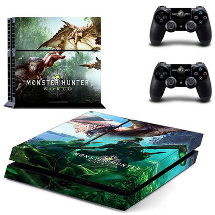 Sony Playstation 4 Monster Hunter World Forest Decal Stickers,  - Merch-Vault.com