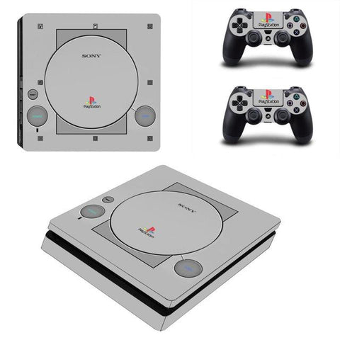 Sony Playstation 4 'Nostalgic Playstation 1' Decal Stickers,  - Merch-Vault.com