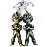 Vintage Metallic Vegeta Keyring,  - Merch-Vault.com