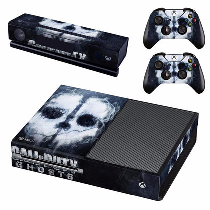 Xbox One Call Of Duty Ghosts Decal Stickers,  - Merch-Vault.com