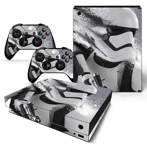 Xbox One Star Wars Storm-trooper Decal Stickers,  - Merch-Vault.com