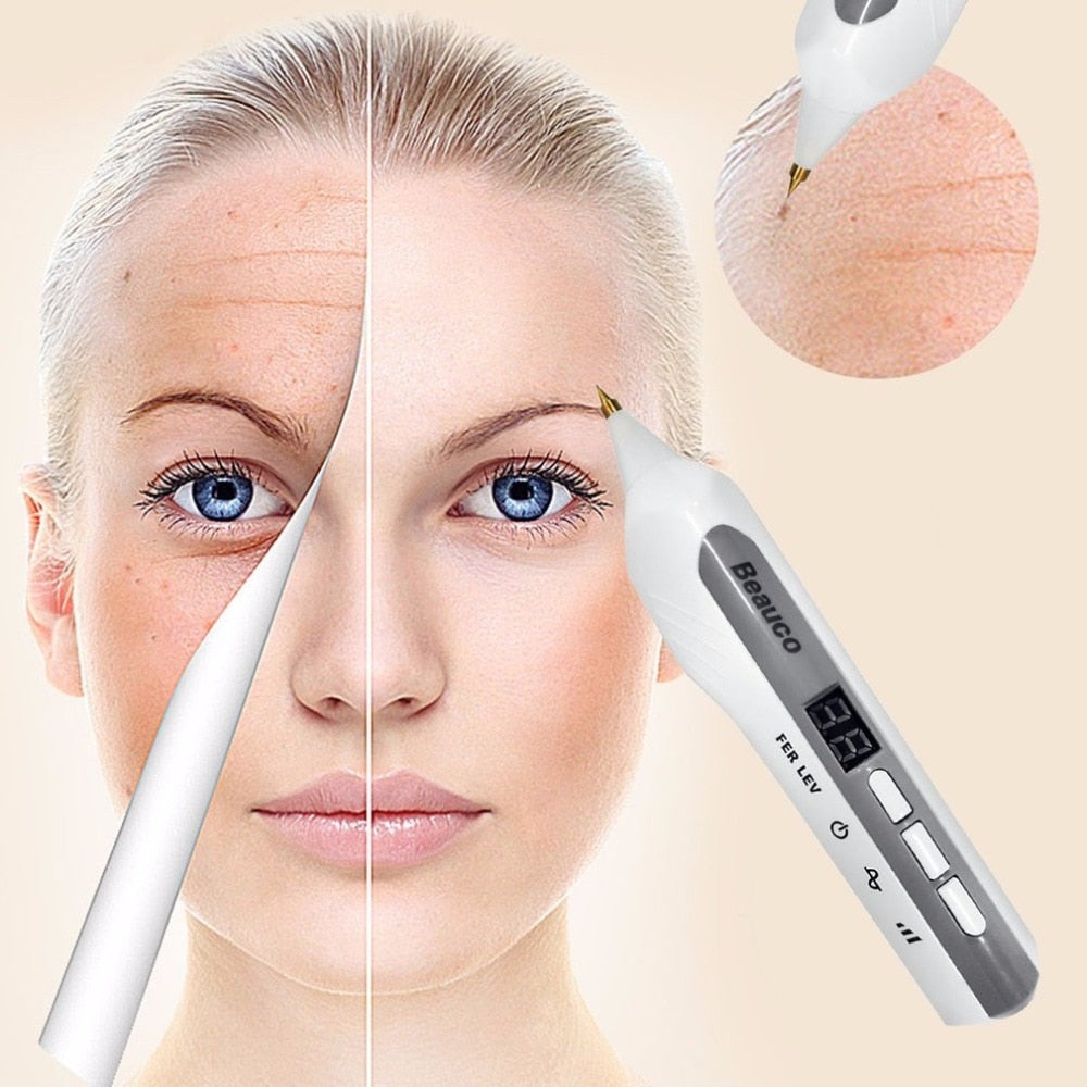 Professional Beauty Device 3 Switchable Modes Laser Freckle Dot Mole Tattoo Removal Sweep Spot Pen Anti-Aging Skin Care Tool