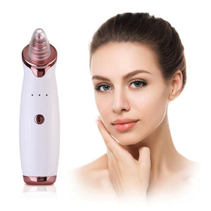 Electric Facial Pore Cleaner Acne Blackhead Removal Extractor Machine USB Rechargeable Skin Cleaner Beauty Tool Kit