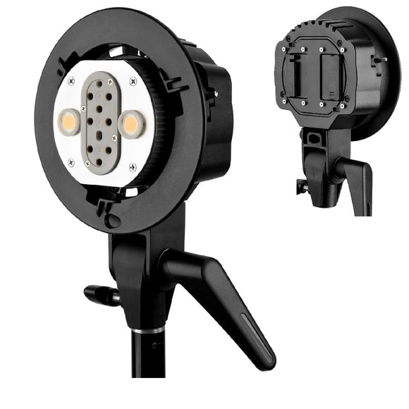 Godox AD-B2 AD200 Dual Power Flash Head S-type double lamp holder