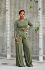 Olive - Two Piece Charmer Set - High Honors