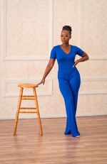 Royalty - Blue Jumpsuit