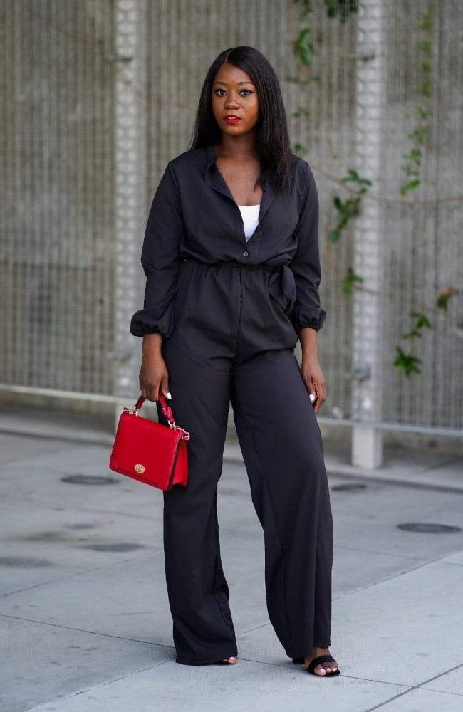 Business as Usual Jumpsuit