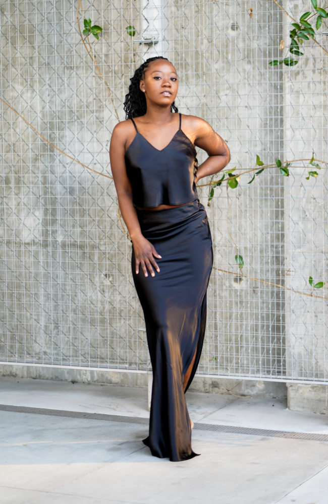 Ebony - Skirt Set - High Honors