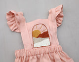 Desert Sunset 3-Piece Pinafore