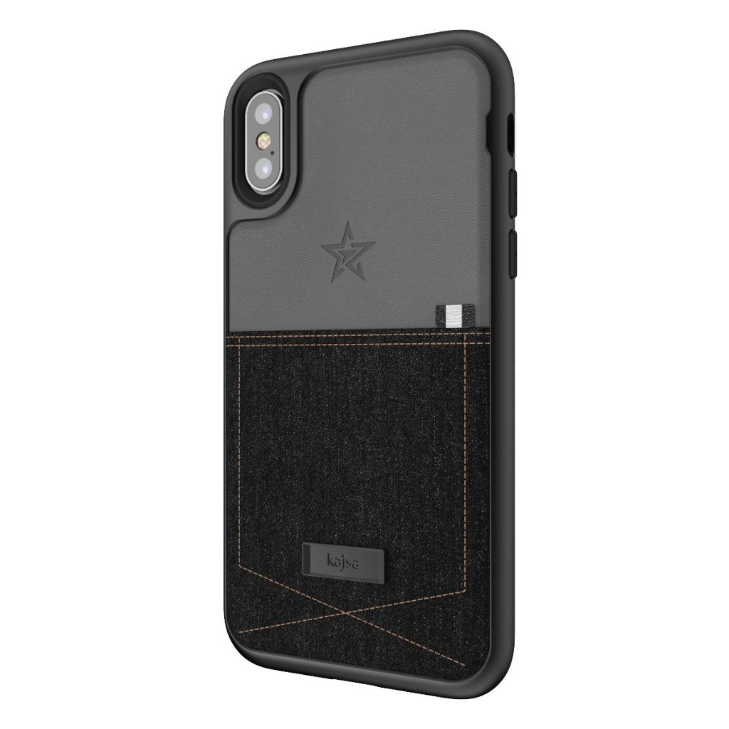 buy online 80633 025ae Denim Collection - Pocket Back Case for iPhone X
