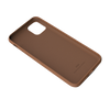 Luxe Collection - Genuine Leather Back Case for iPhone 12