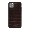 Neo Classic Collection - Genuine Croco Pattern Leather Back Case for iPhone 11 / 11 Pro / 11 Pro Max