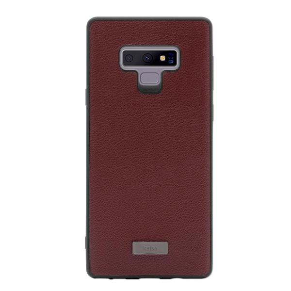 huge selection of b522d fb3ec Luxe Collection - Genuine Leather Back Case for Samsung Galaxy Note 9