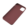 Genuine Leather Wave Pattern Back Case for iPhone 12