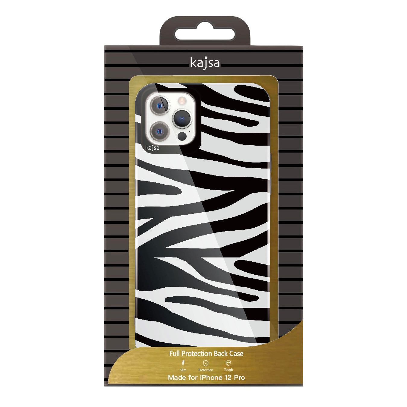 Trans-Shield Collection - Animal Pattern Back Cover for iPhone 12