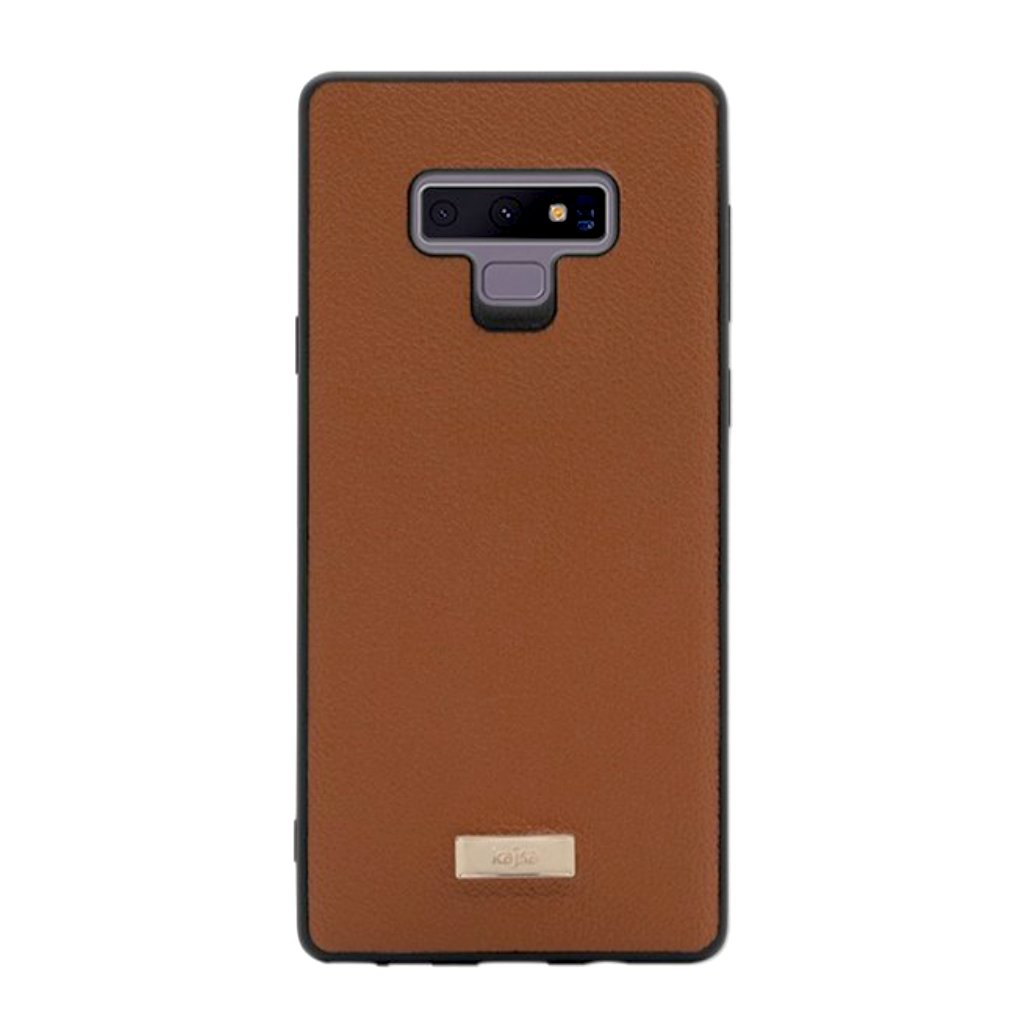 huge selection of ba4ca 6d74c Luxe Collection - Genuine Leather Back Case for Samsung Galaxy Note 9