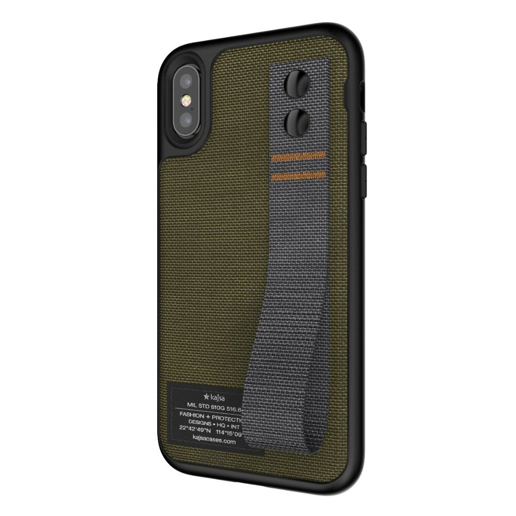 check out 5b31f 387d5 Military Collection - Straps back case for iPhone X